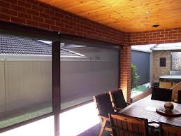 outdoor roller shades for porch