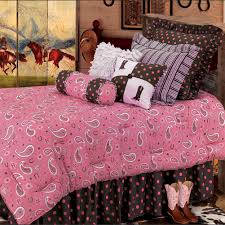 horse bedding for girls pink paisley bedding collection cabin place