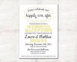 wedding reception only invitation wording cheap wedding reception invitations meichu2017 me