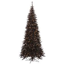 black tree with lights lights decoration