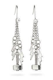 cool dangle earrings thor dangle earrings thinkgeek