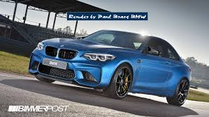realistic render of the 2018 m2 cs with elements from the m4 cs