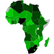 Map Of Sub Saharan Africa Economy Of Africa Wikipedia