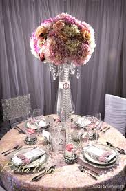 wedding decor inspiration pink u0026 crystal