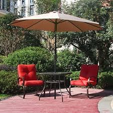 Patio Table With Umbrella Buying Teak Patio Furniture U2013 What To Know Teak Patio Furniture