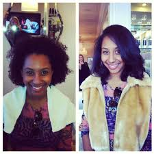 pictures of a black blowout hairstyle drybar multiple locations curls understood