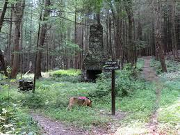 Hacklebarney State Park Map by Gone Hikin U0027 Jug End State Reservation Ma
