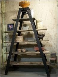 Leaning Ladder Shelf Ikea Step Ladder Paint Shelf Black Ladder Shelf Step Ladder Bookshelf