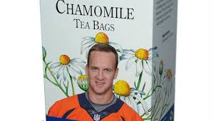 Tea Bag Meme - total pro sports peyton manning gets his own brand of chamomile