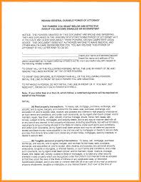 Statutory Durable Power Of Attorney by 8 Indiana Power Of Attorney Form Scholarship Letter