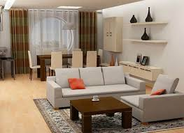 small apartment living room ideas square brown wooden table white wooden shelf small apartment