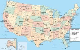 canadian map cities america city map america atlas map of america