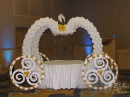 cinderella themed centerpieces cinderella carriage balloon classics