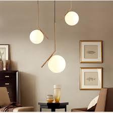 modern minimalist art deco pendant lights ball glass shade globe