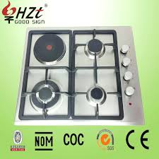Hybrid Gas Induction Cooktop Electric And Gas Stove Combination Electric And Gas Cooktop