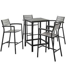 Patio Bar Table Set Outdoor Sets