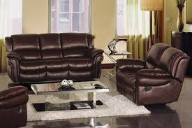 best leather recliner sofa sets with leather reclining sofa set