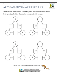 collections of math brain teasers worksheets wedding ideas