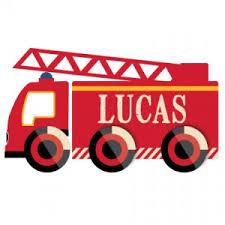 stickers pr駭om porte chambre sticker prénom à personnaliser camion de pompier porte de