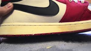 how to clean midsoles fix nike pre yellowing youtube