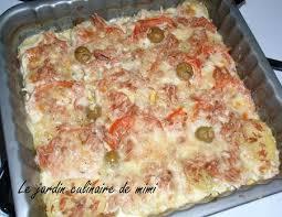cuisiner du thon en boite recette gratin de thon et mozzarella recettes maroc