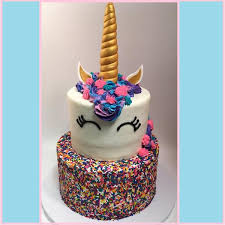 cake tier tiered unicorn cake amycakes bakery