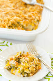 corn and mixed vegetable casserole recipe