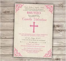 Wedding Invitations In Spanish Baptism Invitations In Spanish Plumegiant Com