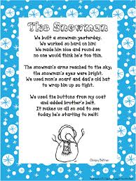 snowman ornament poem