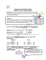 lcm math worksheets u0026 least common multiple and greatest common