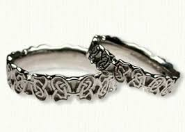 celtic butterfly knot wedding band celtic wedding rings