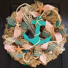 shop burlap wreaths for front door on wanelo