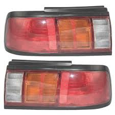 nissan sentra tail light cover autoandart com 93 94 nissan sentra new pair set taillight
