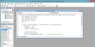 vba in excel create u0027open with u0027 macro or create run and delete