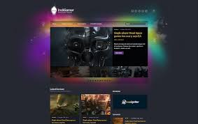 15 best gaming html website templates 2017 colorlib