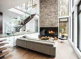 Urban Style Interior Design - urban style home with high ceilings