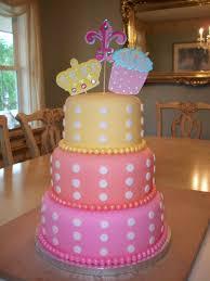 3 tier fondant birthday cake best birthday cakes