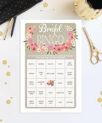 unique bridal shower activities bridal shower bingo game 76 unique game sheets wedding