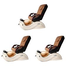 cleo mocha nail salon furniture packages 3 station