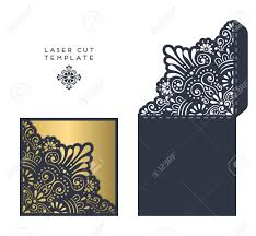 Visa Black Card Invitation Laser Cut Template Envelope Wedding Card Invitation Royalty Free