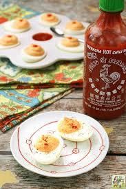 sriracha mayo kraft sriracha roasted red pepper deviled eggs this mama cooks on a diet