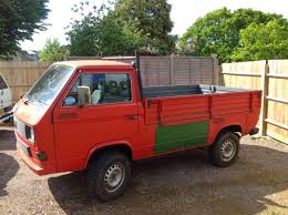 volkswagen syncro 4x4 1988 vw t25 syncro 4x4 pickup truck 4x4 cars