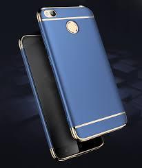 Xiaomi Redmi 4x Bakeey Luxury Plating Frame Splicing Pc For Xiaomi Redmi