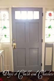5 light interior door my gray interior door days of chalk and chocolate
