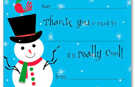 christmas thank you cards so cool kids christmas stationery thank you cards 17831
