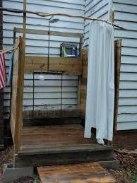 outdoor shower enclosure ideas vinyl outdoor shower enclosure