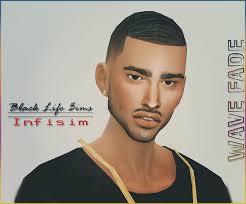 sims 4 fade haircut male updos for short hair