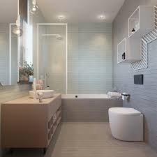 modern bathroom decorating ideas combined with backsplash design