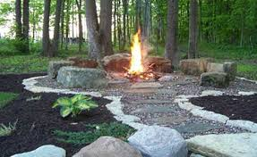 Fire Pit Rocks by Looking To Do Something Similar With My Firepit Garden