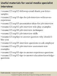 Inventory Specialist Resume Sample by Sample Resume Media Specialist